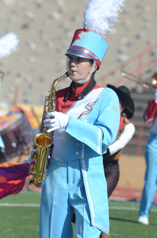 Photo of Sandia HIgh School Matador Marching Band member