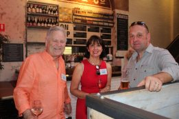 Chris & Ida from Norwood House with Merchant Lane Director Brett