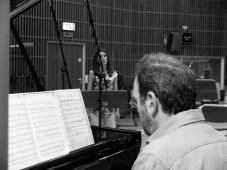 Die Sängerin: Danae Kontora, (Sopran) und Joachim Tschiedel