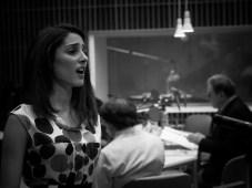 Die Sängerin: Danae Kontora, (Sopran)