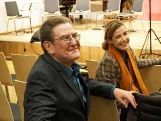 Theo Geißler und Alexandra Dielitz. Foto: Juan Martin Koch
