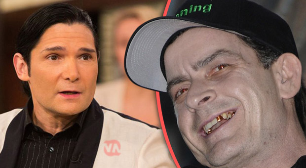 corey feldman received death threats from charlie sheen over his pedophile campaign