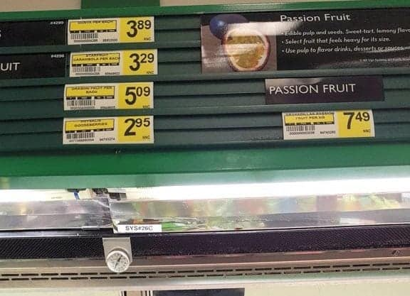 "Passion fruit, left, and dragon fruit are subsidized items under the current Nutrition North Canada program model, while bullets and diapers are not. ""We're going to have to decide whether this is a social program or a fairness issue,"" said INAC Minister Carolyn Bennett in February. - Michele LeTourneau/NNSL photo"