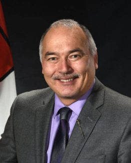"""Premier Joe Savikataaq: """"I am committed to continuing to make the GN a safer and more inclusive place for women."""""""