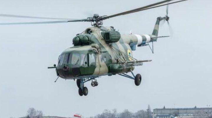 Збройні сили України отримали модернізований вертоліт Мі-8МТ