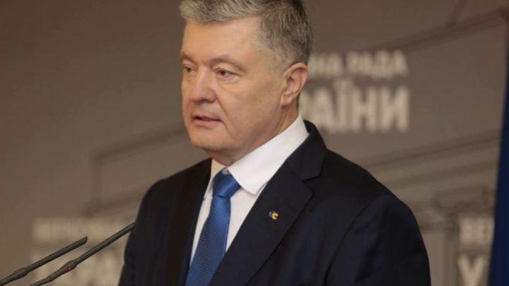 """П""""ятий президент Петро Порошенко розповів, які санкції зупинять Росію"""