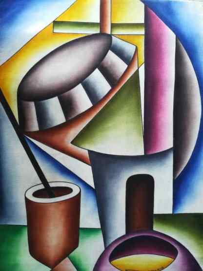Title Royal Court. Artist Nuwa Wamala Nnyanzi. Medium Batik. Code NWN0212012
