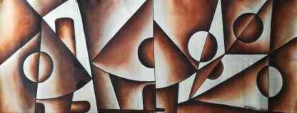 Title Village Mates. Artist Nuwa Wamala Nnyanzi. Medium Batik. Code NWN0012017