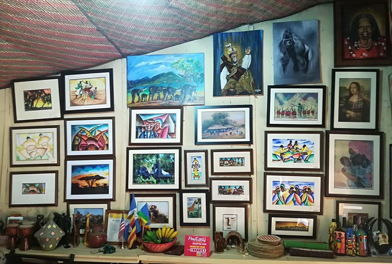 Inside Nnyanzi Art Studio feb-19