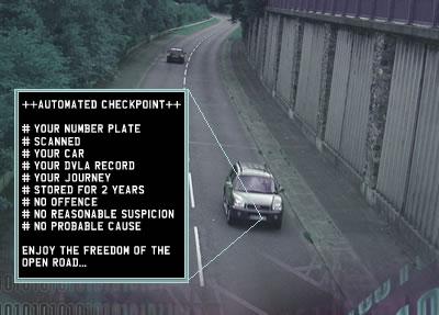 ANPR checkpoint