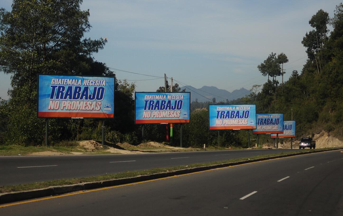 2019-01-28-Campaña electoral Partido Patriota