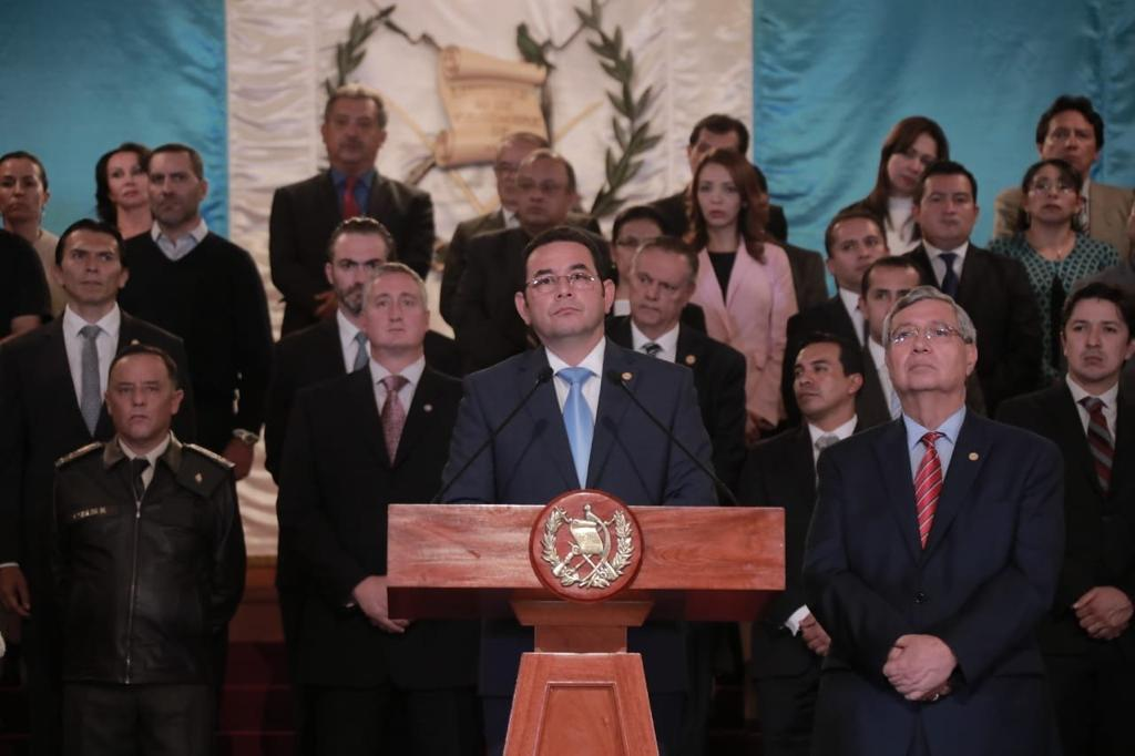 Jimmy Morales, el restaurador de la impunidad