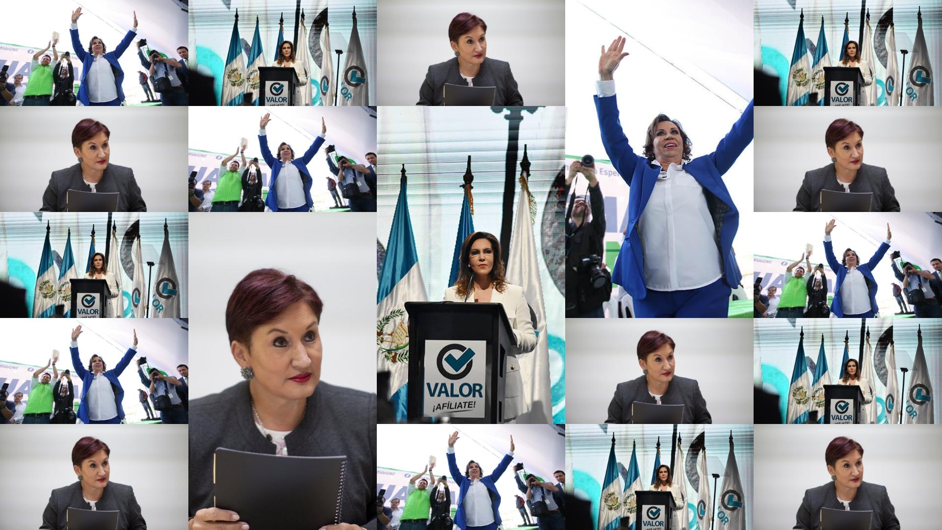 Una mujer quiere ser presidenta en Guatemala