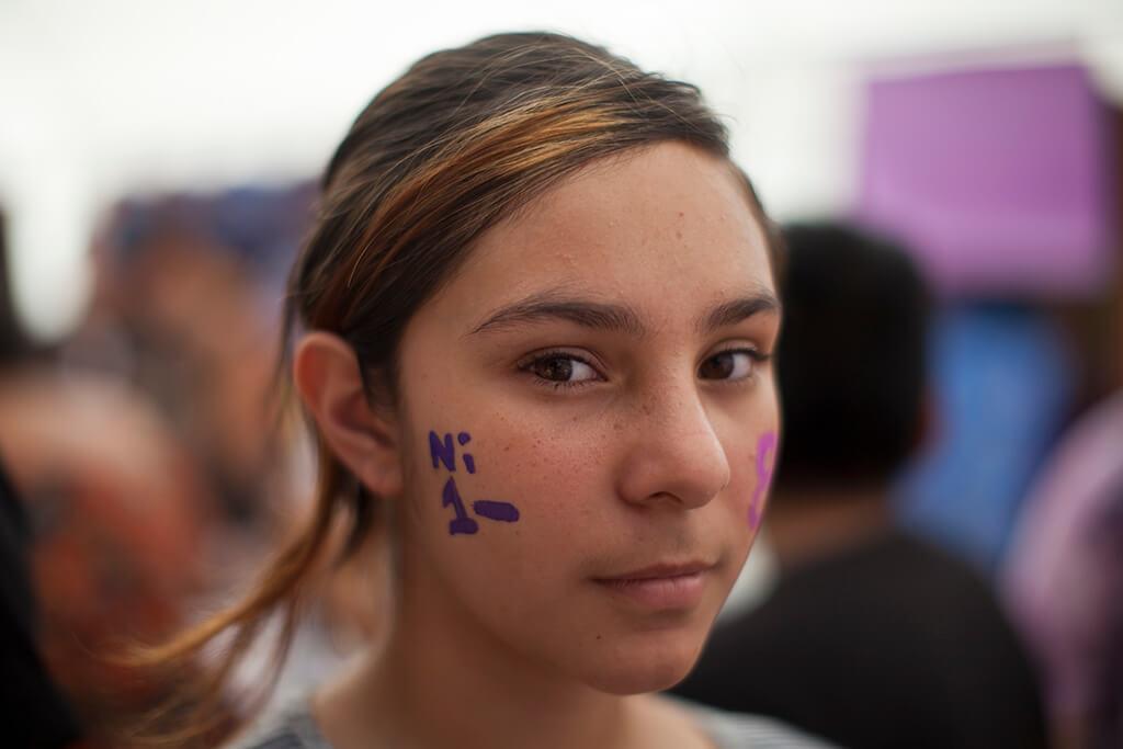 Saquean el Sector de Mujeres en el #8M en Guatemala