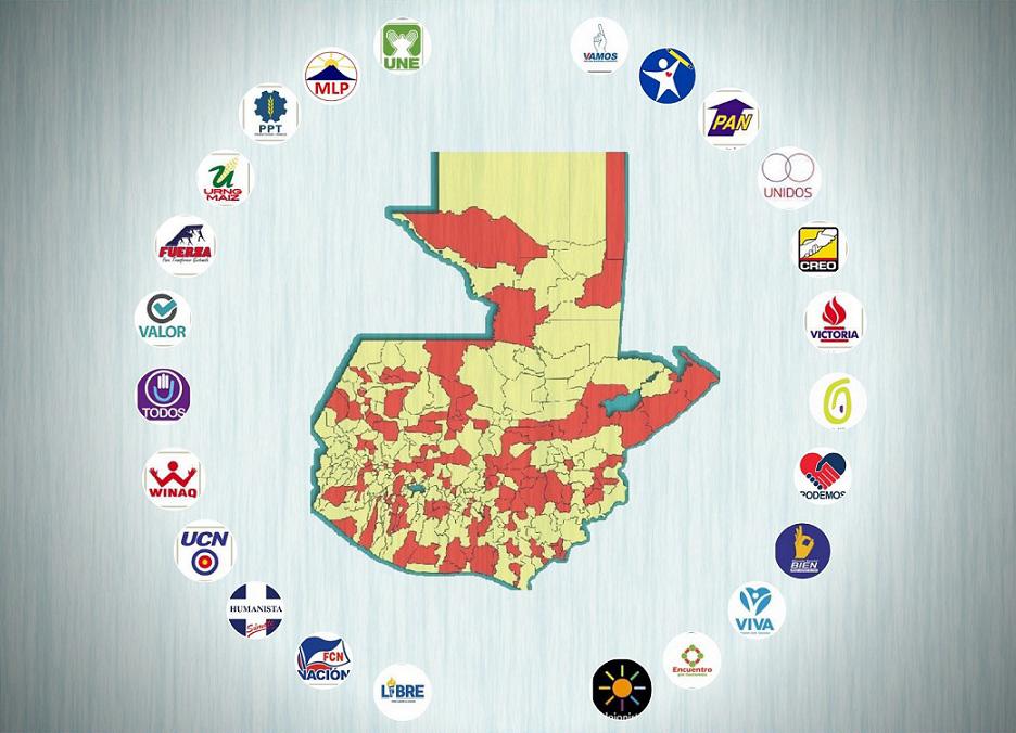 El poder de los alcaldes (2020-2024)