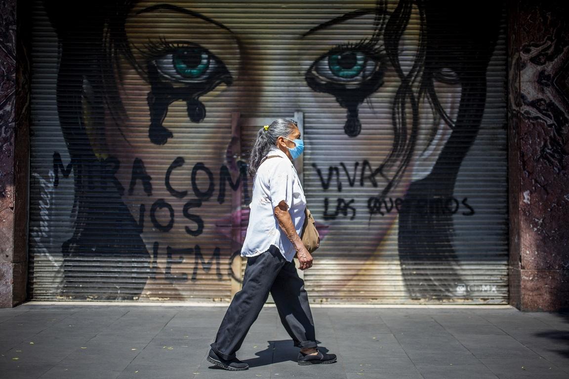 COVID-19 más la pandemia de violencia contra la mujer