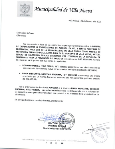 adjudicacion dispensadores foto
