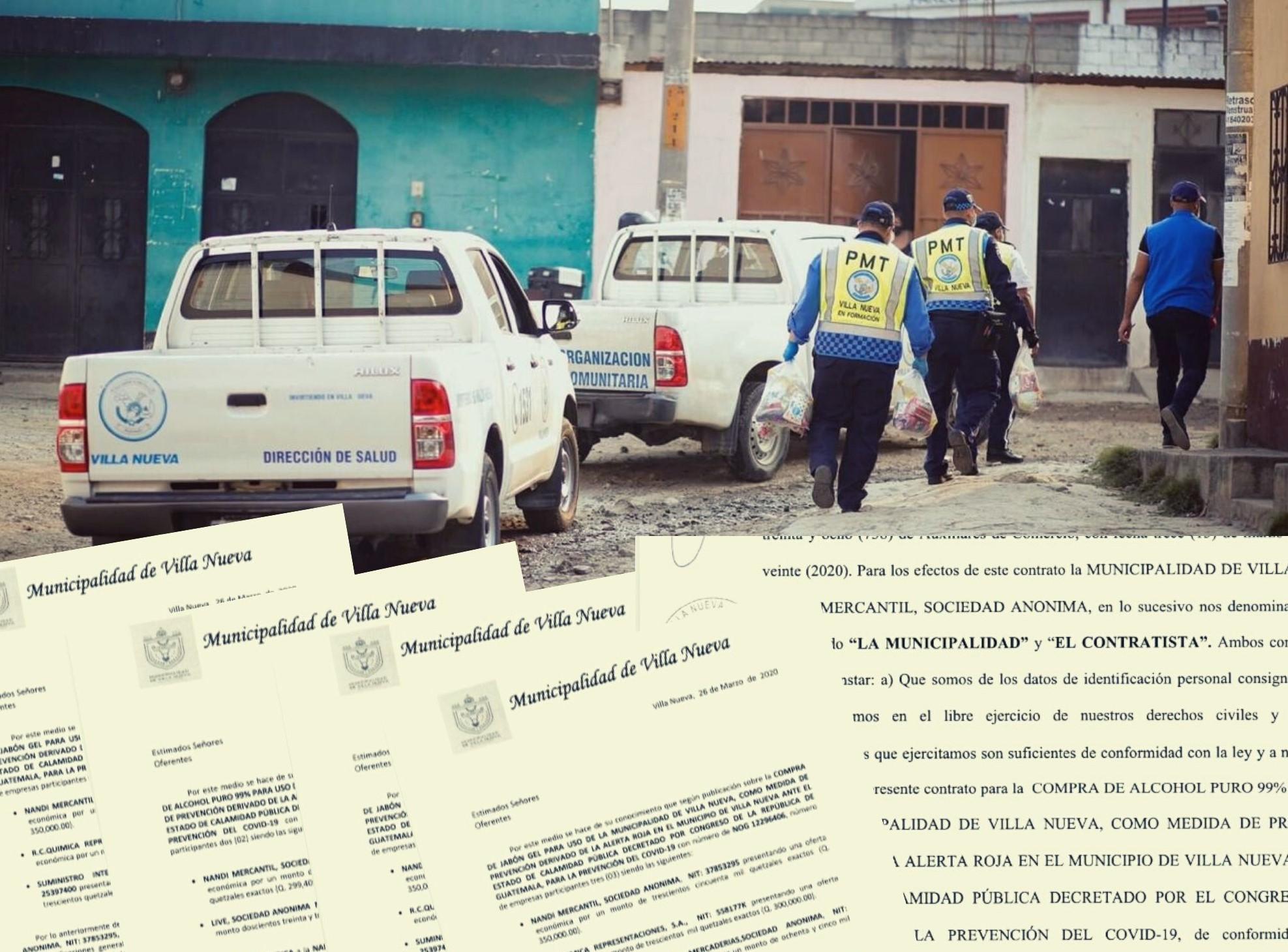 Villa Nueva adjudica Q1,2 millones en compras sobrevaloradas del COVID-19
