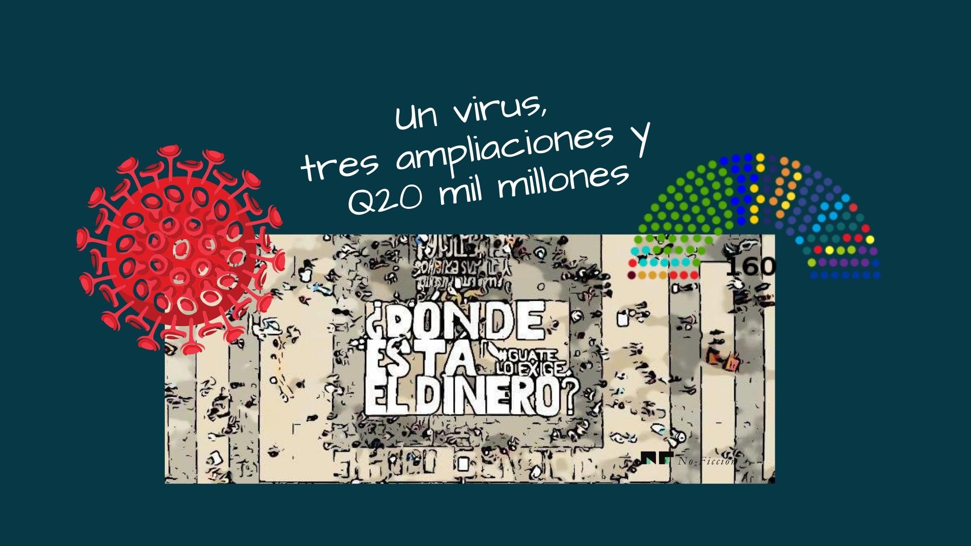 Un virus, tres ampliaciones y Q20 mil millones