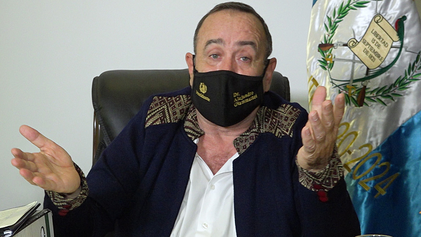 Giammattei tiene coronavirus