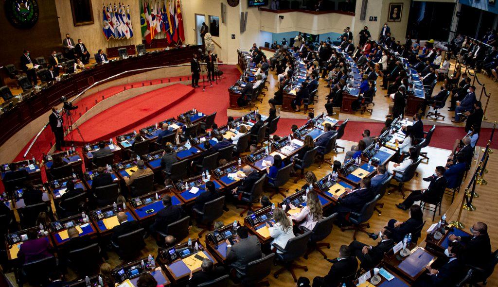 1 de mayo Asamblea El Salvador, FACTUM