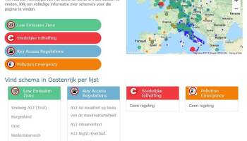Milieuzones in Europa