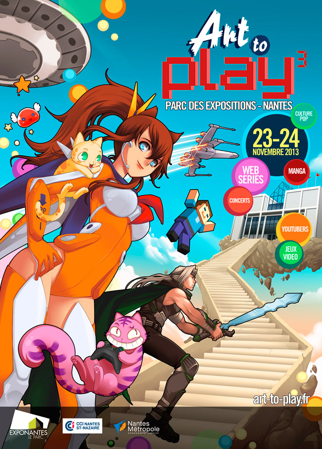 Art to Play 3 arttoplay 2013 nantes convention