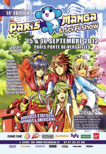 Convention Paris Manga 14   PM septembre 2012   Fanzine No-Xice© Nantes