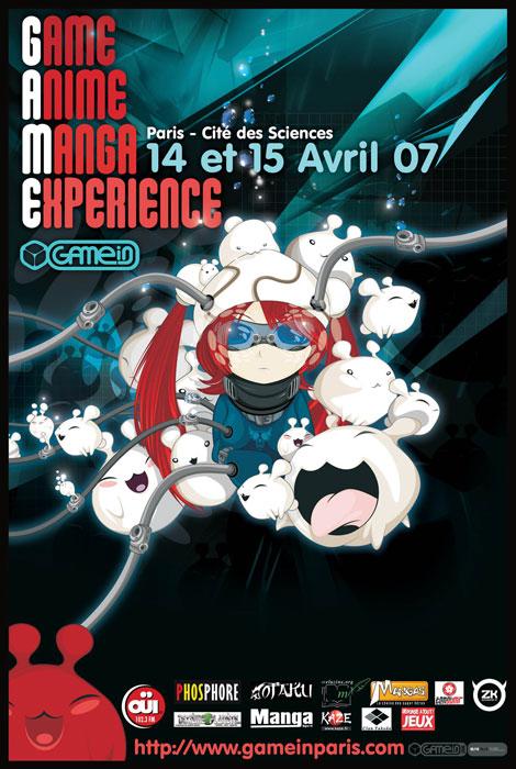 Convention manga GAME in Paris 4 Paris No-Xice© fanzine