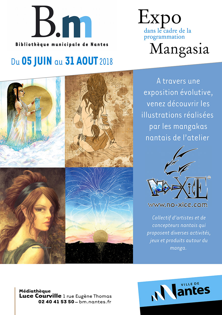 Exposition No-Xice© Luce Courville Nantes Mangasia