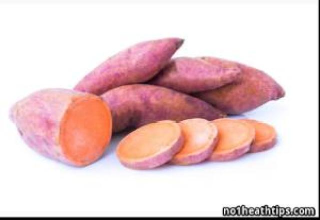 sweet potato for health