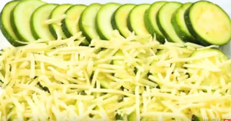 Preparation of Zucchini gratin Recipes