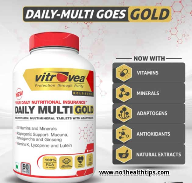Daily Multi Gold Best Multivitamin for men