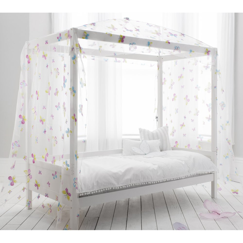 Canopy Four Poster Butterfly Bed