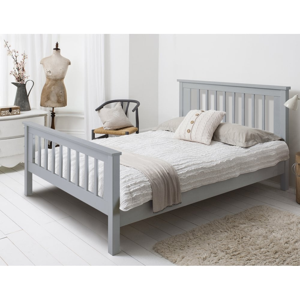 hampshire kingsize bed frame in grey