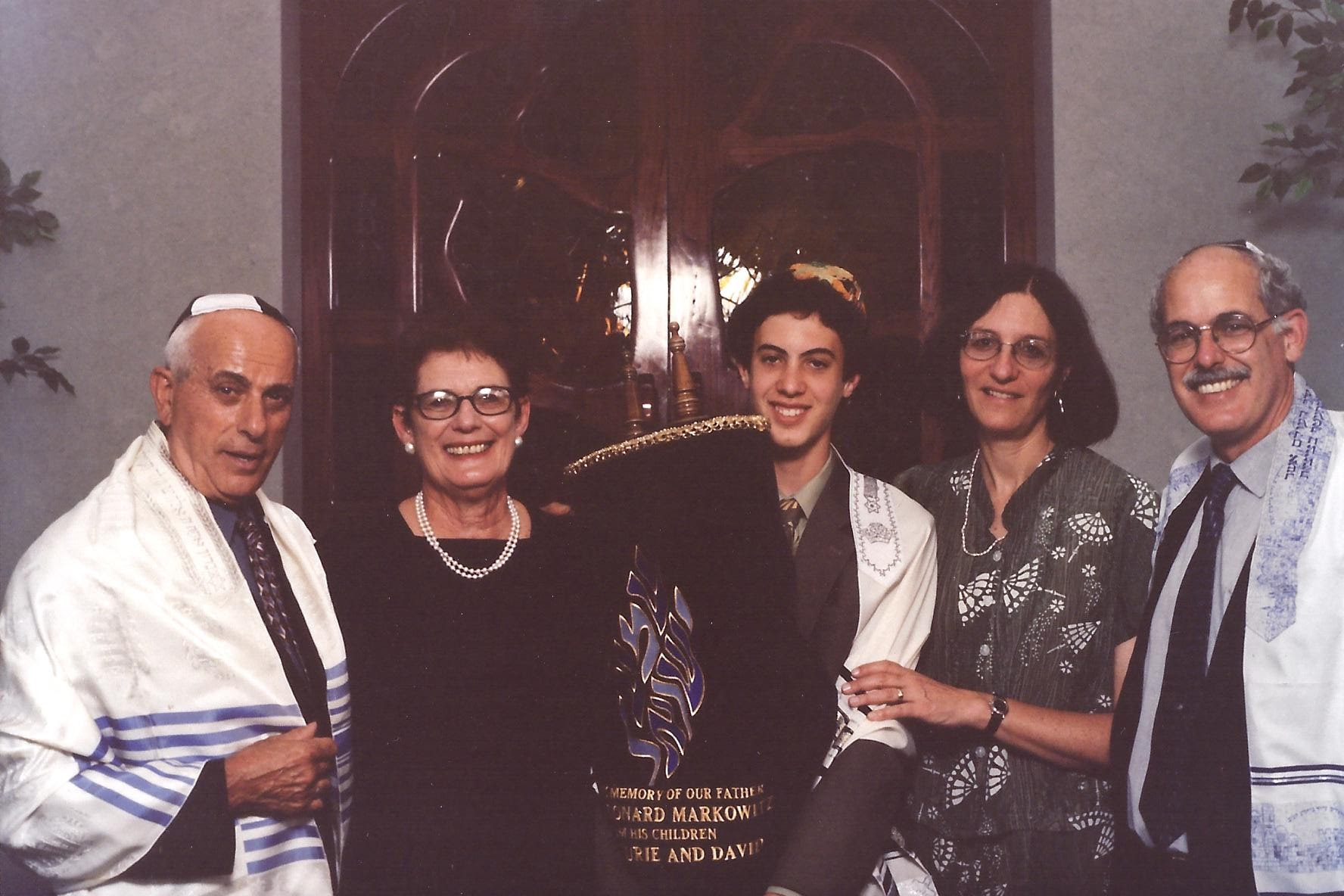 2004 Noah's bar mitzvah