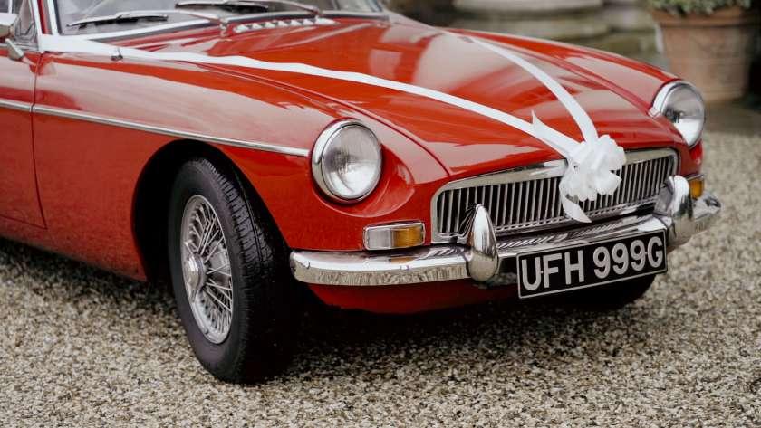 wedding car avington park