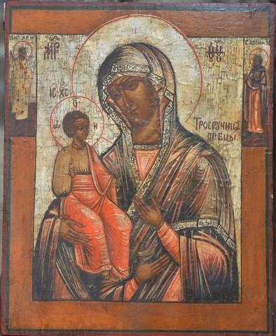 Jerusalem Icon of the Mother of God (Nepycarnmckar)