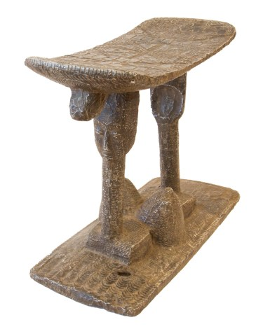 Royal Ashanti Figurative Stool