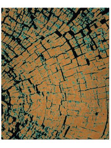 Tapa in Copper, 12 ft x 16 ft.