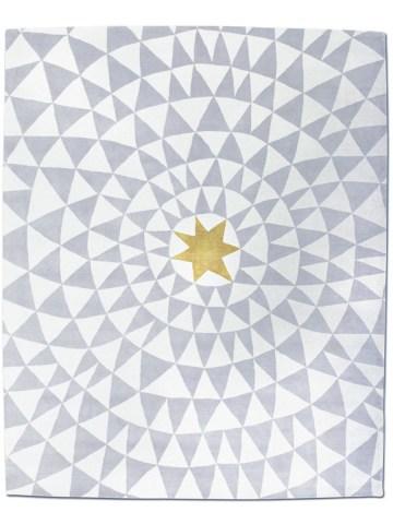 Wa in Yellow Star, 9 ft. x 12 ft.