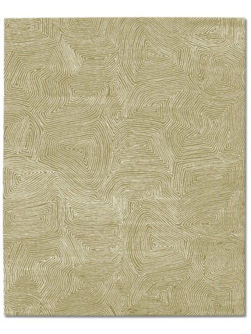 Maze in Rattan, 10 ft. x 14 ft.