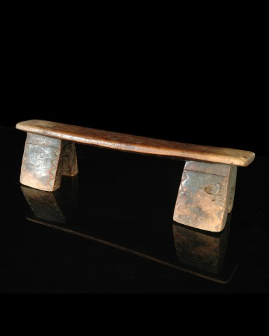 Headrest, South Africa, Original in form and style.