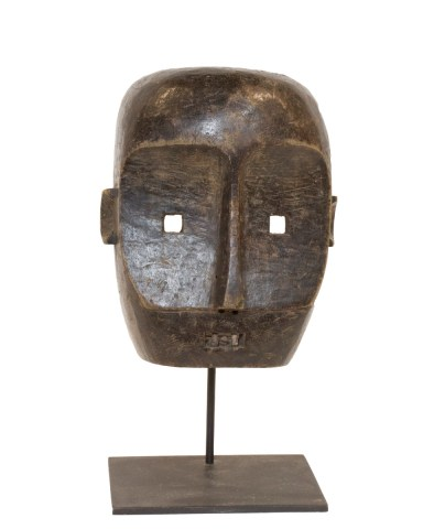 Face Mask, Mbuti Pygmy People, Democratic Republic of Congo, Central Africa