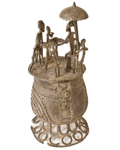 Container (Kudou) Ashanti Peoples,Ghana