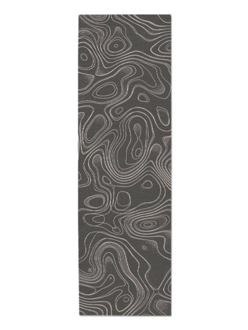 String Theory in Pewter, 3 ft. x 10 ft.