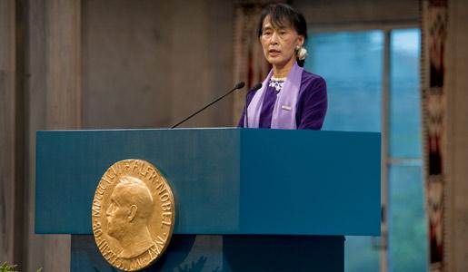 Aung San Suu Kyi - Facts - NobelPrize.org