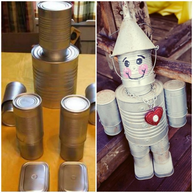 DIY tinman decoration