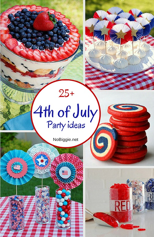 25 More 4th Of July Party Ideas Nobiggie Net