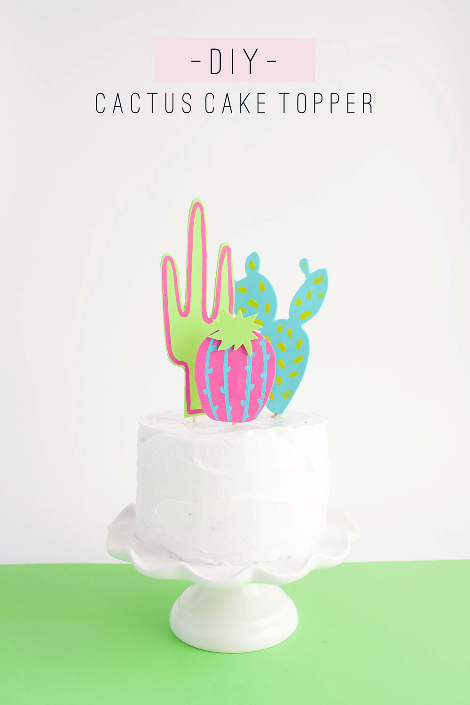 25 Cactus Crafts And DIY NoBiggie